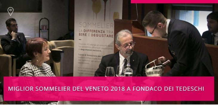 """""""Miglior Sommelier del Veneto"""", venerdì 13 aprile a Venezia il concorso dell'AIS"""