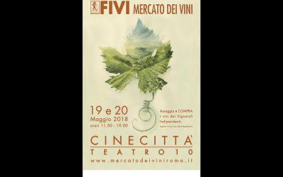 Il vino in scena a Cinecittà, fra gli stand della Fivi: festa a Roma il 19 e 20 maggio