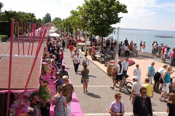Palio del Chiaretto. A Bardolino, sul lago di Garda, la festa del Principe dei vini rosati