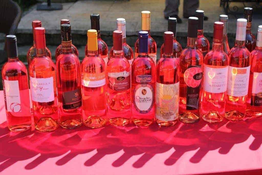 Vino Chiaretto Bardolino al Merano Wine Festival