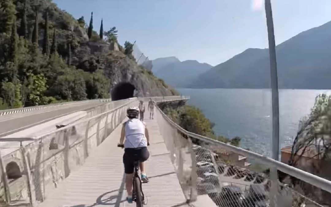 Enoturismo, la magia della splendida pista ciclabile fra Limone e Riva del Garda