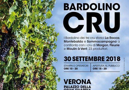 """Eventi Verona: """"Bardolino Cru"""" – degustazione di vini domenica 30 settembre"""