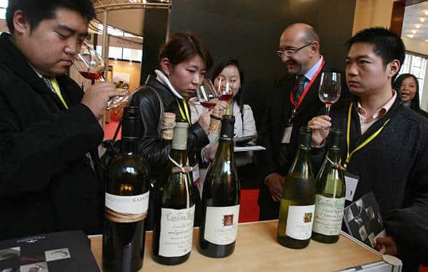 Promozione di vino italiano in Cina: cresce l'export dell'Italia nei primi sei mesi del 2018 (+14,75%)