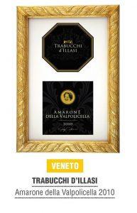 Trabucchi d'Illasi - Amarone della Valpolicella 2010 - uno dei 10 migliori vini italiani - Guida Bibenda 2019