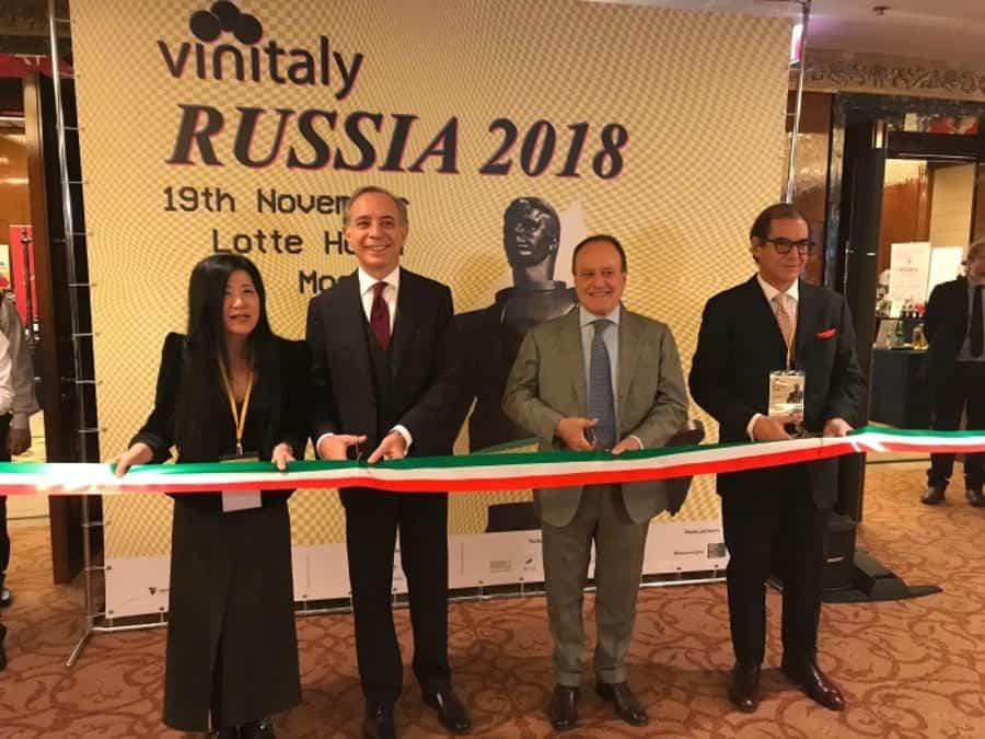 Vinitaly Russia: Mosca mercato chiave per l'export di vino italiano. Importazioni di vino in crescita del 4,5% l'anno