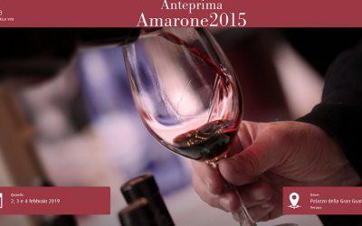 """Anteprima Amarone 2015: l'evento a Verona dal 2 al 4 febbraio 2019 con il """"Grande Rosso Veronese"""". Serie di conferenze su Amarone e Valpolicella"""