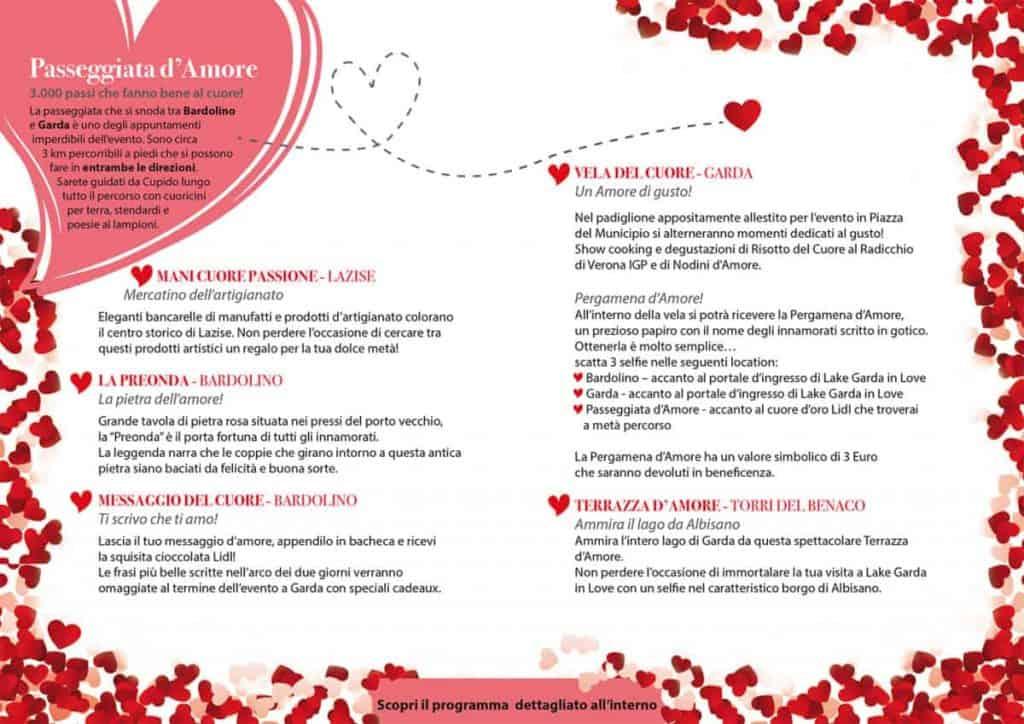 Festa di San Valentino - Lago di Garda in Love - 2019 - 1^