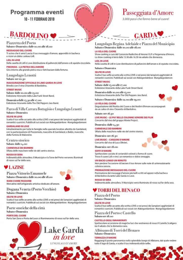 Festa di San Valentino - Lago di Garda in Love - 2019
