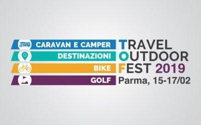 """Turismo esperienziale: a Parma il """"Travel Outdoor Fest"""" dal 15 al 17 febbraio 2019. Caravan, camper, golf e bicicletta per i viaggi all'aria aperta"""