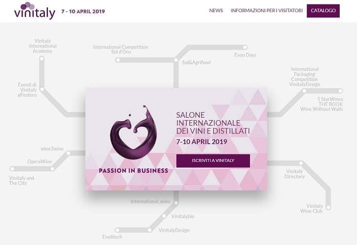 - Vinitaly - Verona - Fiera Verona - Vinitaly 2019 alla Fiera di Verona - vino, enoturismo, turismo del vino - pianta del salone internazionale del vino e dei distillati
