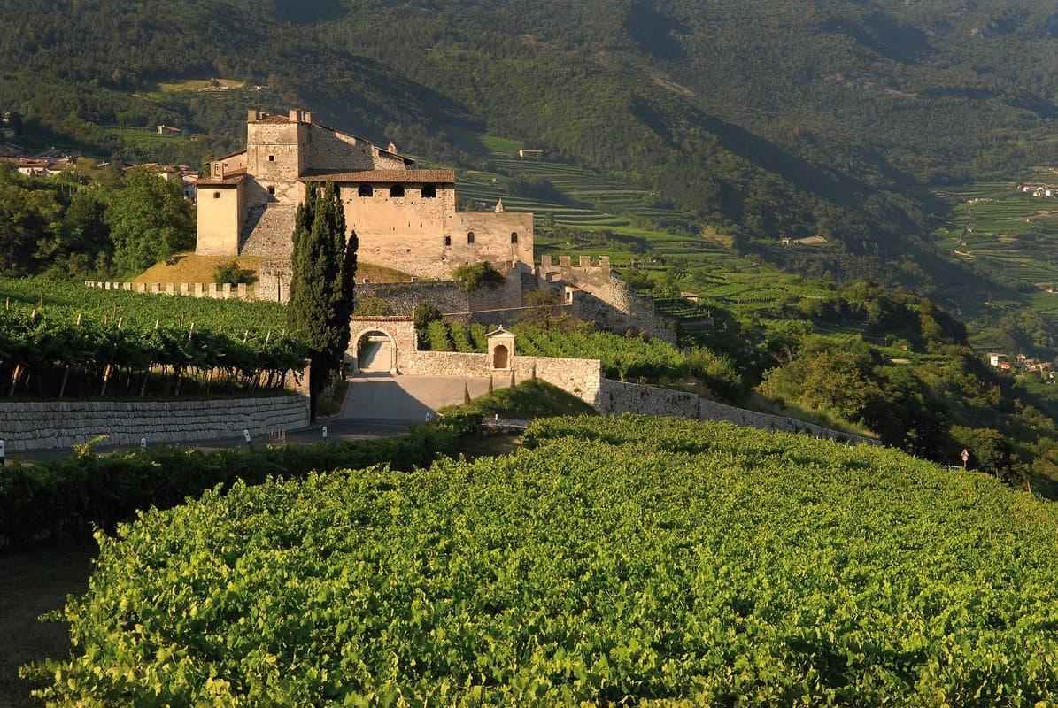 Gite fuori porta, enoturismo, Castel Noarna, Vallagarina