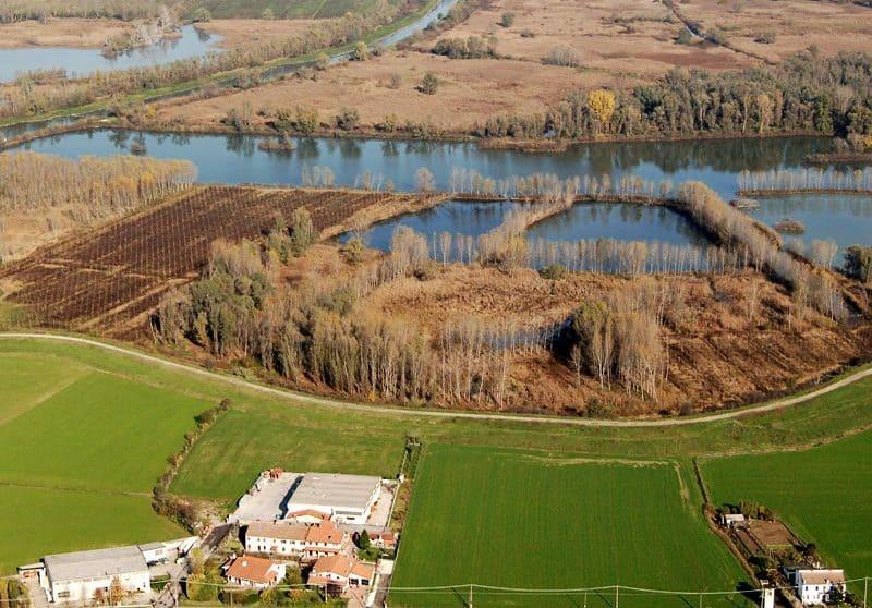 Parco naturale del Mincio, cicloturismo a Mantova