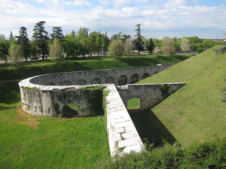 Verona turistica- Parco delle Mura