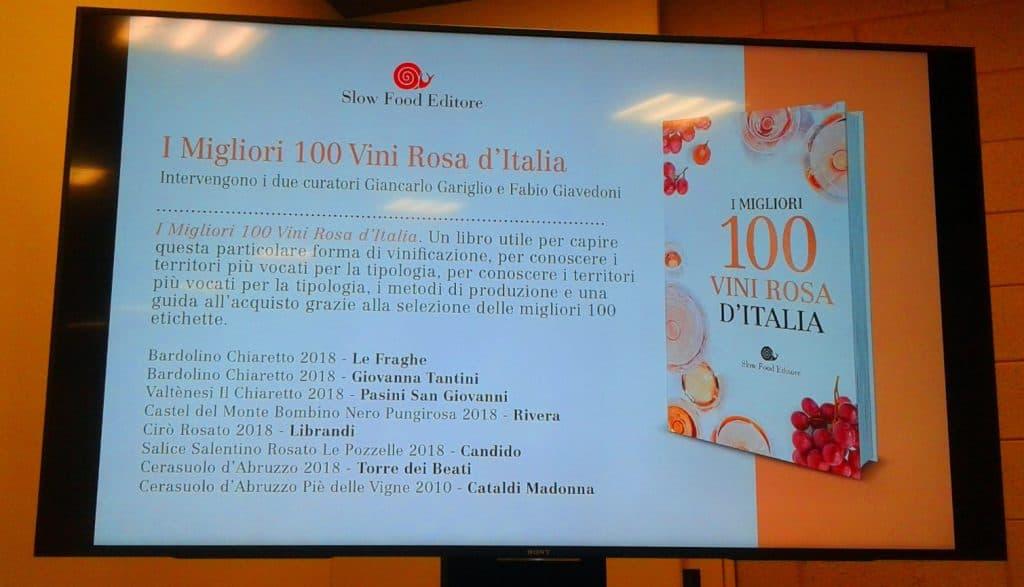 La guida Slow Wine I Migliori 100 Vini d'Italia, presentata a Vinitaly 2019