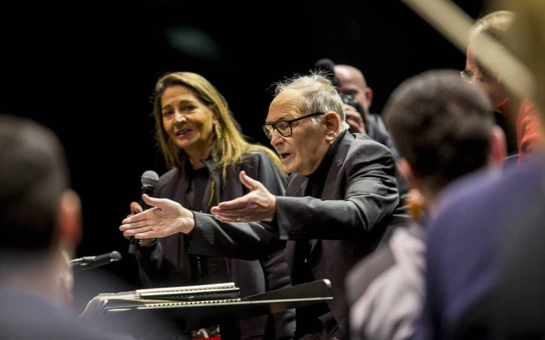 Concerti Arena di Verona 2019: Ennio Morricone. Due serate con il grande maestro: sabato 18 e domenica 19 maggio, ore 21. Festeggia 60 anni di musica
