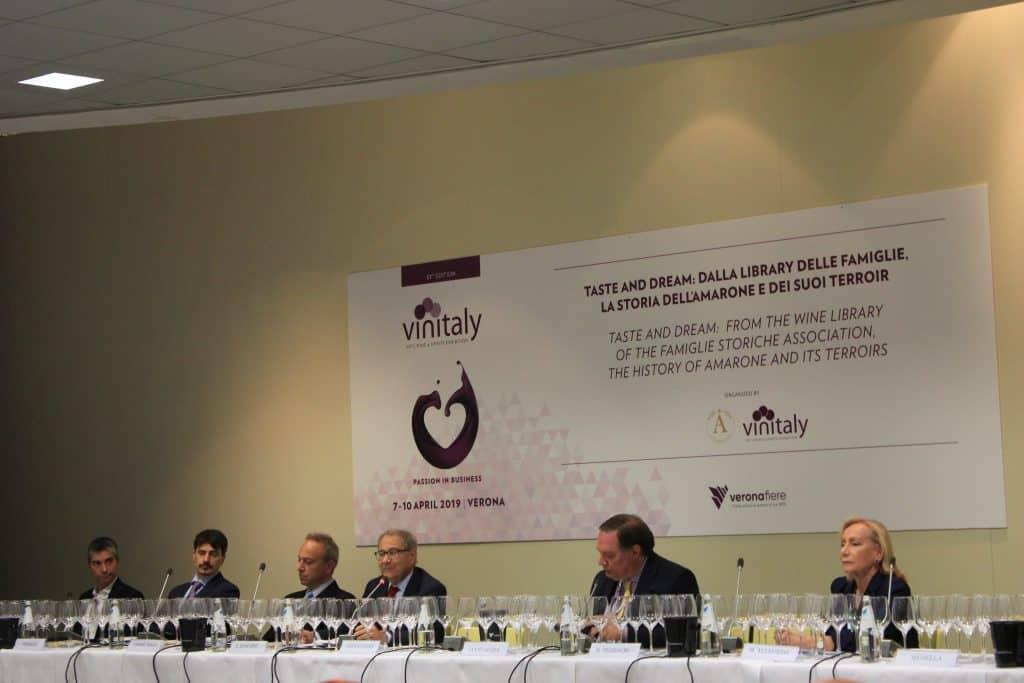 Famiglie Storiche dell'Amarone a Vinitaly 2019