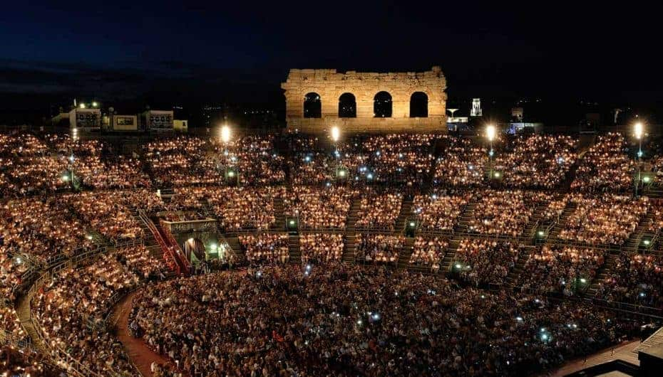 Verona Arena Opera Festival 2019: the most famous operas on stage from 21th June in the city of Romeo and Juliet