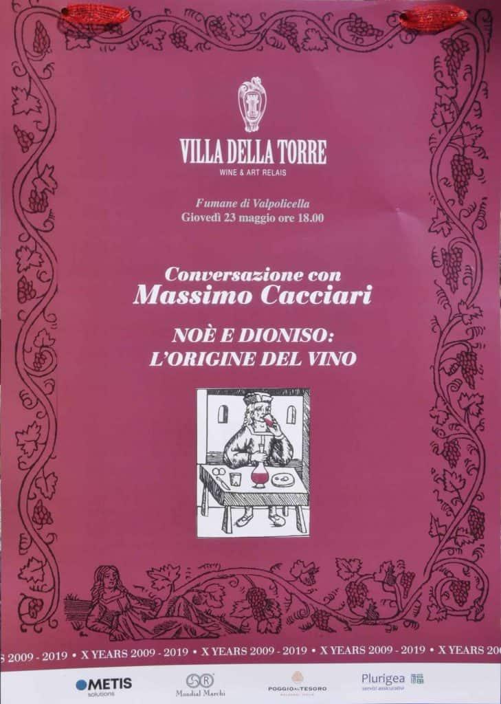 Evento Villa della Torre di Allegrini in Valpolicella