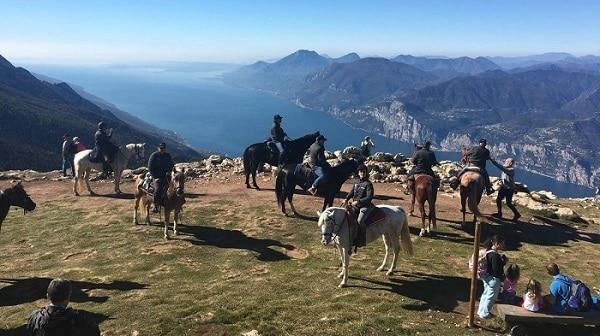 Ippovie sul Monte Baldo - Fieracavalli - turismo equestre - equiturismo