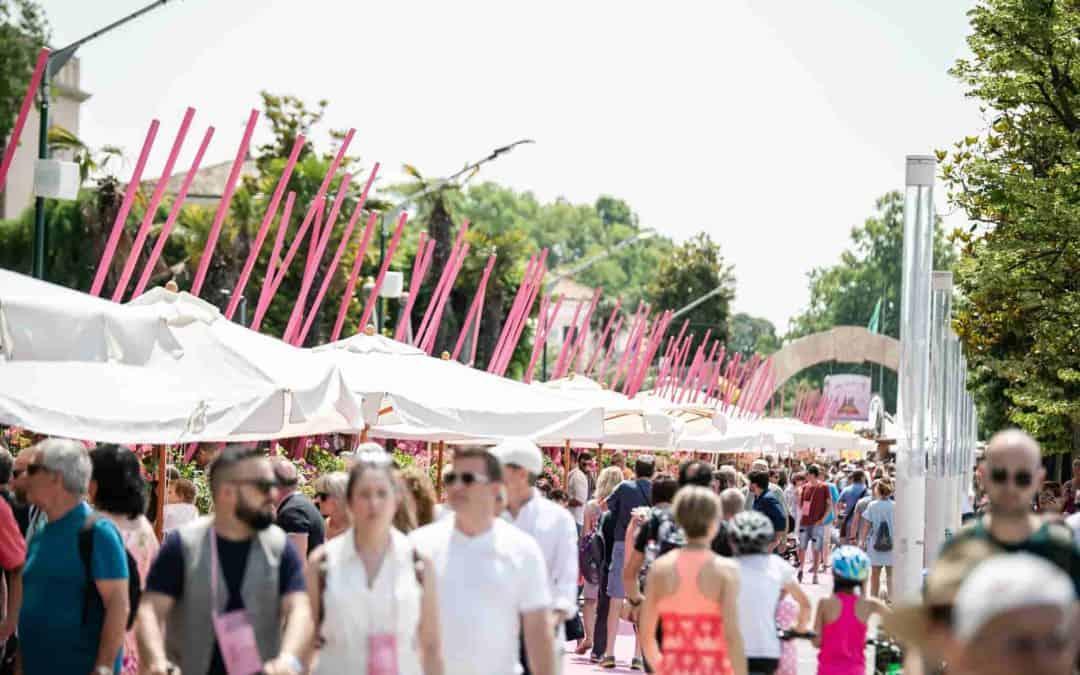 Palio del Chiaretto a Bardolino: festival del vino rosa dal 31 maggio al 2 giugno. Degustazioni e spettacoli. Domenica 2 giugno in Fiera a Verona il Chiaretto al Giro d'Italia