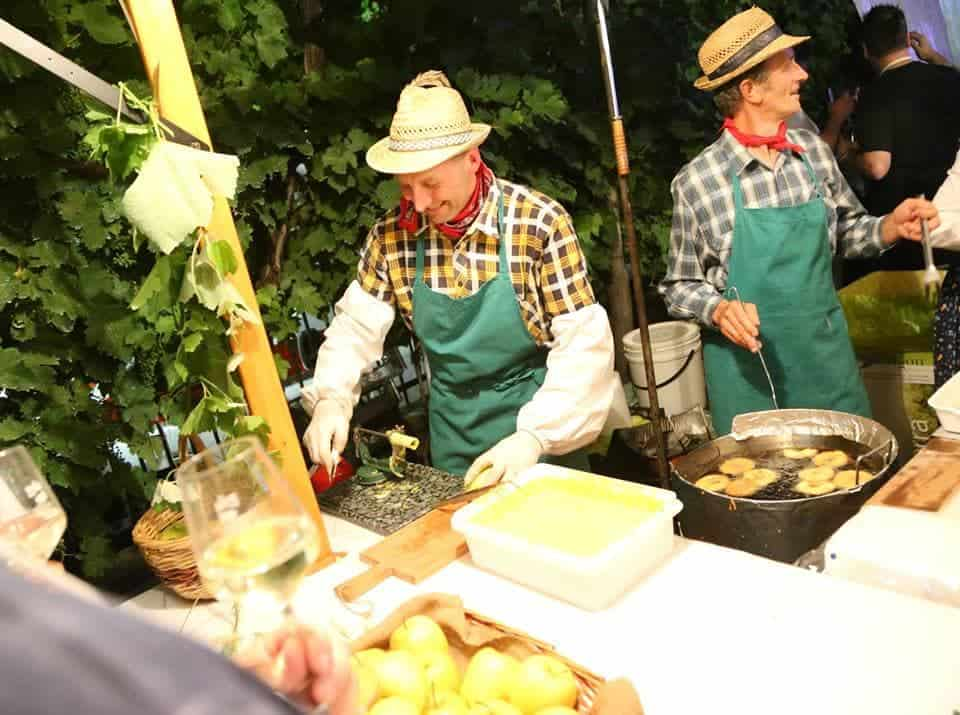 Vespaiolona vino Breganze Doc - Vicenza - festa