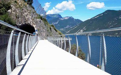 Ciclabile Limone-Riva del Garda: nuovi tratti di pista in arrivo. Il progetto Garda by Bike prende forma
