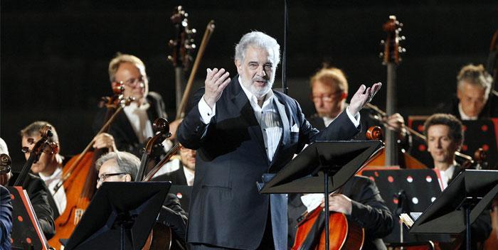 placido domingo - Verona Arena Opera Festival 2019