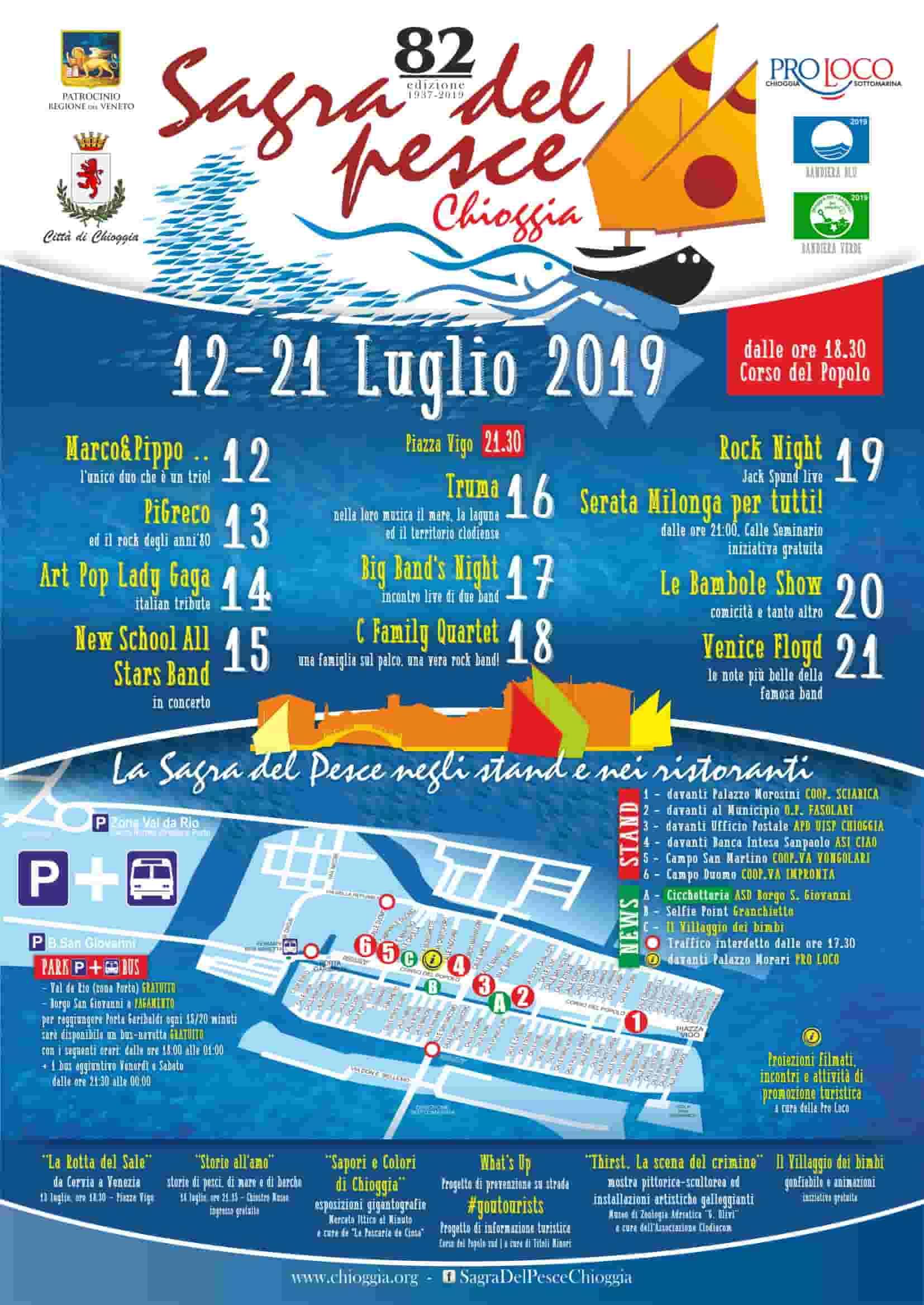 Chioggia - Sagra del Pesce - 2019
