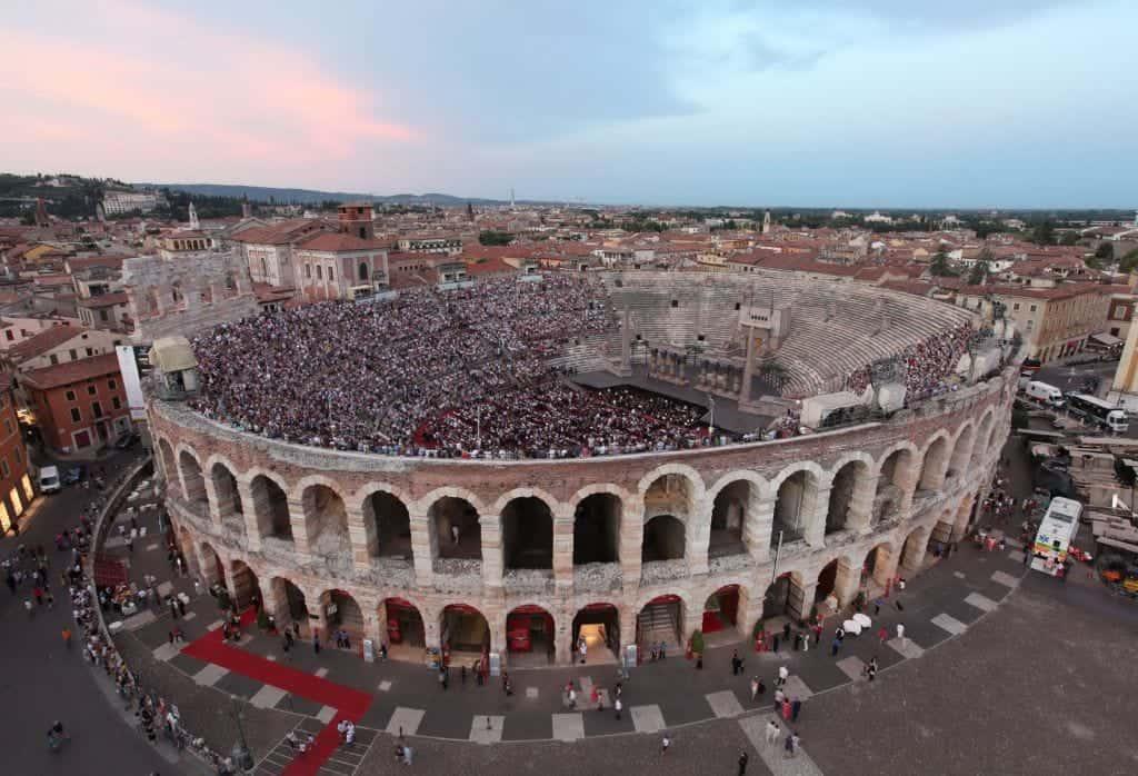Anfiteatro Arena - Verona - Fondazione-Arena-Foto-Ennevi