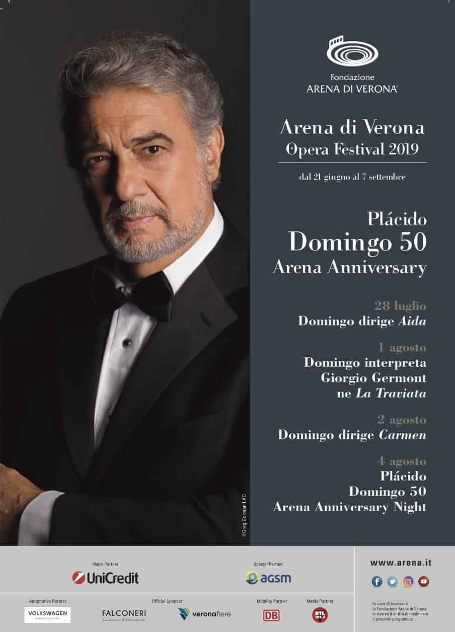 Plácido Domingo all'Arena di Verona - 2019 --