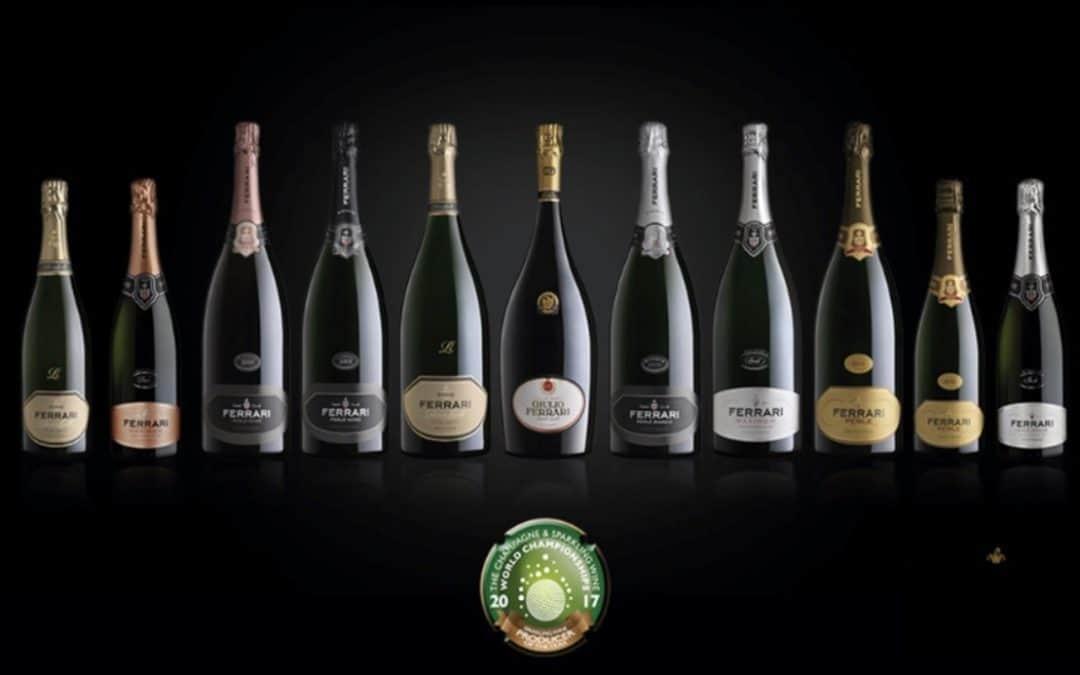 """Spumante Ferrari sugli scudi. E' lo """"sparkling wine producer of the year"""". Le bollicine italiane, dal Prosecco agli spumanti veronesi, amate in tutto il mondo"""