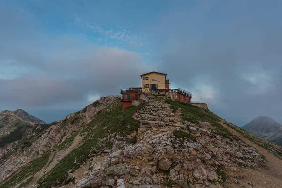 Rifugio Fraccarolli e Cima Monte Carega