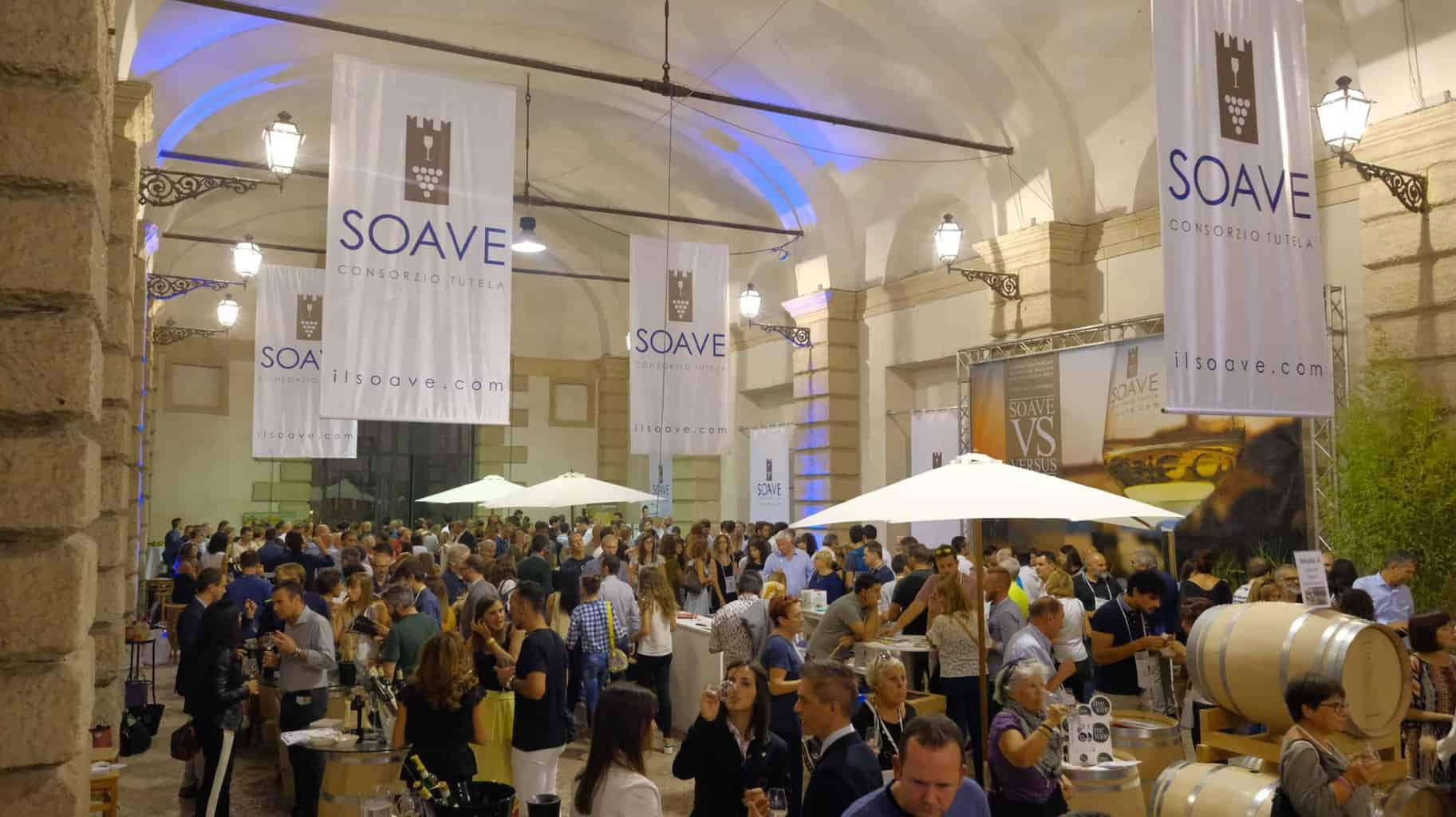 Soave Versus il festivale del vino a Verona