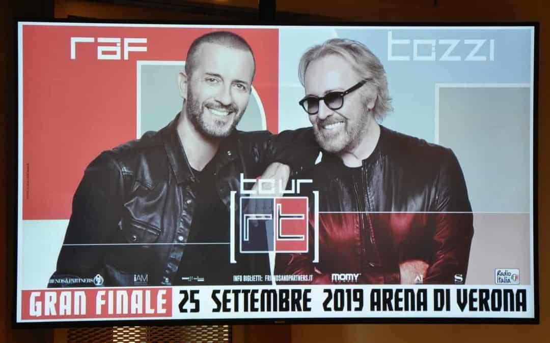 Arena di Verona, Raf e Umberto Tozzi in concerto il 25 settembre con 30 grandi canzoni. Prendi i biglietti e leggi le informazioni utili su Verona