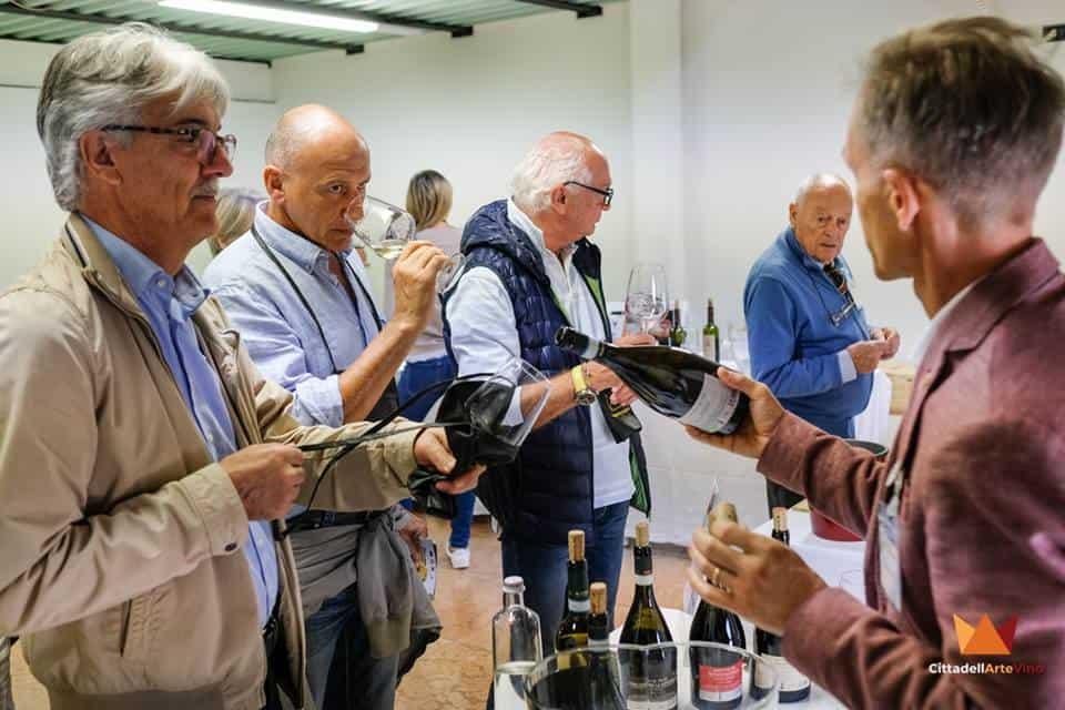 Enoturismo, CittadellArteVino 2019 - Cittadella - Padova - settembre 2019 - vini in degustazione