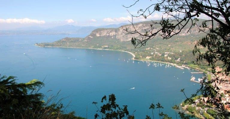 Veduta da La Rocca di Garda