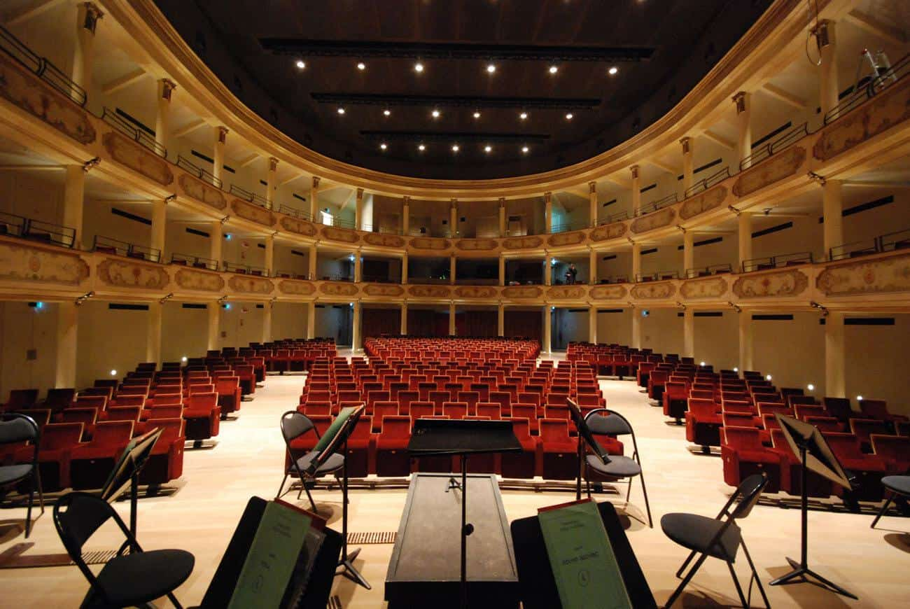 Teatro Ristori - concerti di musica classica, jazz, spettacoli di prosa e danza - stagione 2019-2020 - la sala del teatro