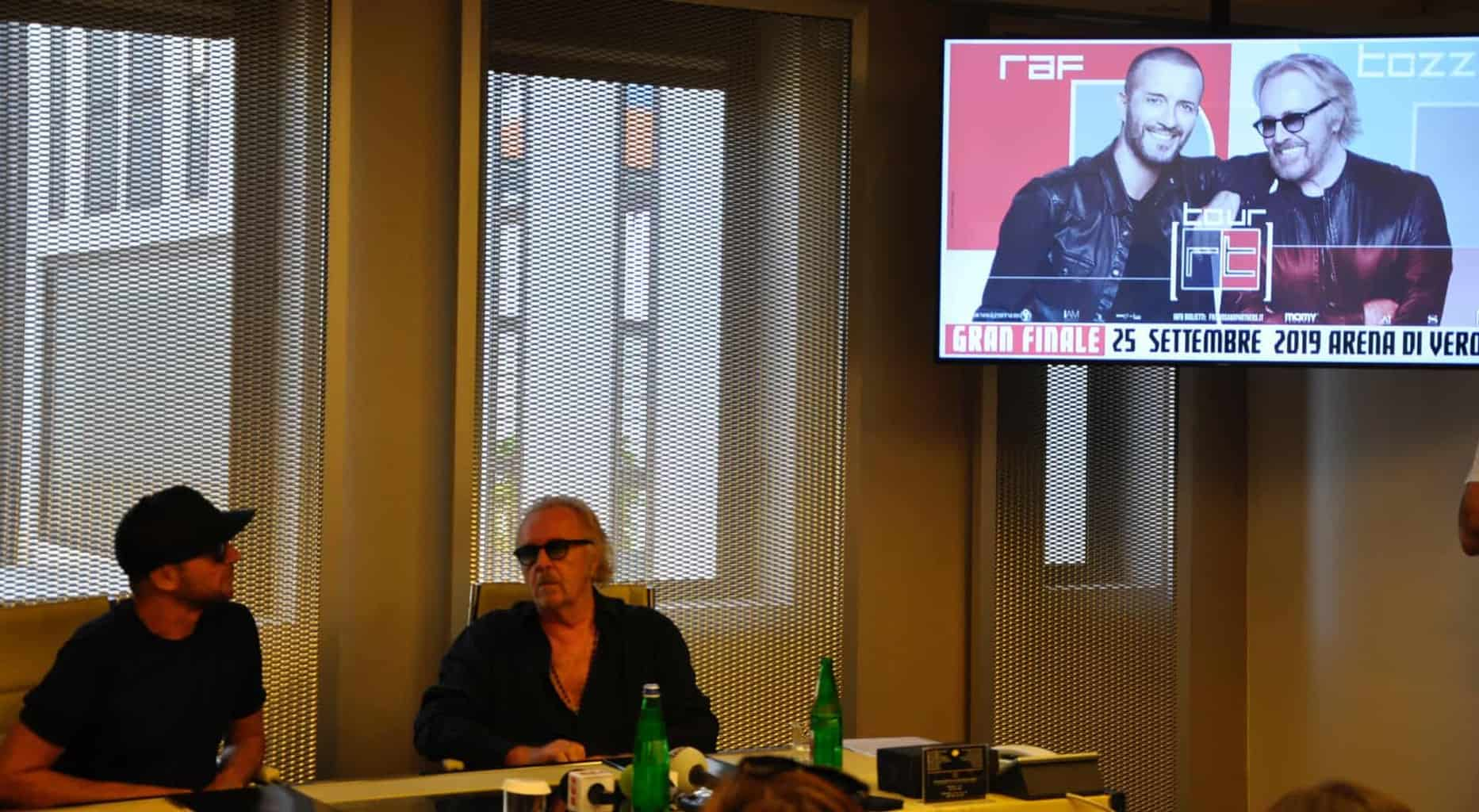 Conferenza stampa RAF e Tozzi