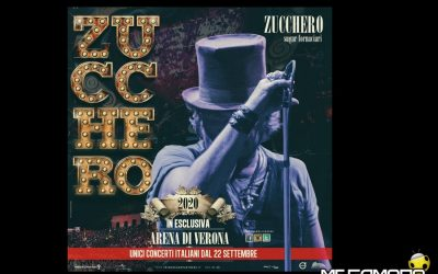 Zucchero Fornaciari all'Arena di Verona dal 22 settembre al 4 ottobre 2020. Acquista i biglietti del concerto e scopri le info utili sul tuo viaggio a Verona