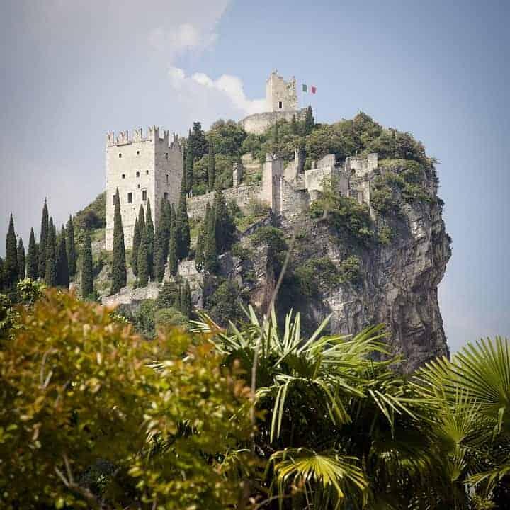 Castello di Arco-lago di Garda Trentino