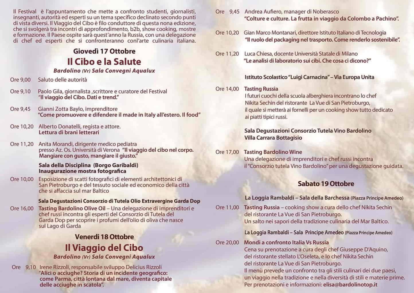 Festival Internazionale della Geografia - Bardolino - ottobre 2019 - Verona Wine Love - 2