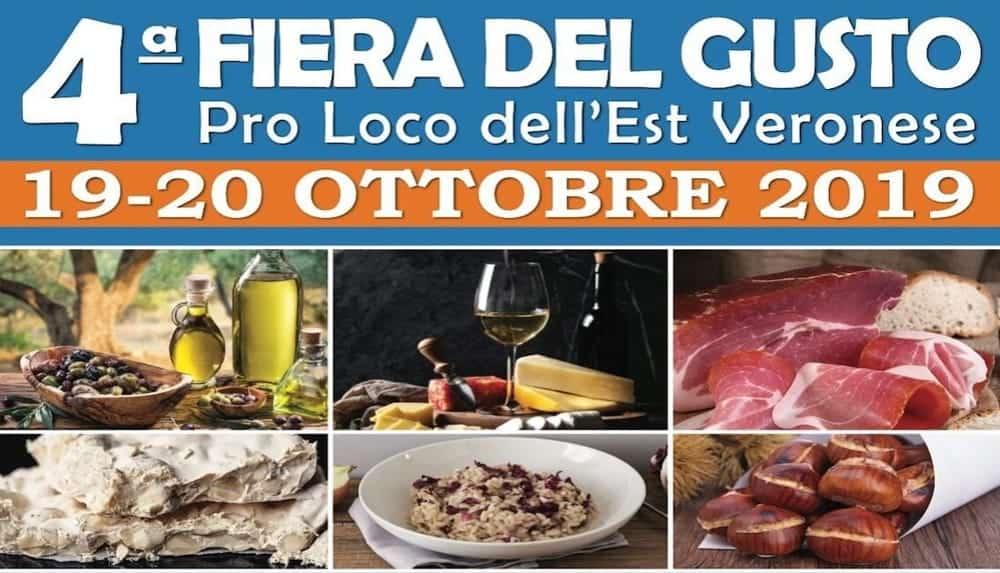 Fiera del Gusto Pro Loco - Est Veronese - ottobre 2019