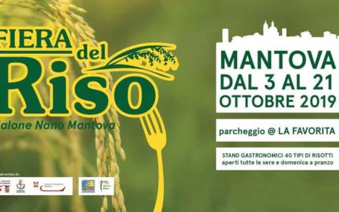 Fiera del Riso di Mantova: fino al 21 ottobre 2019 risotti per tutti i gusti con il vialone nano mantovano. Scopri programma e info utili
