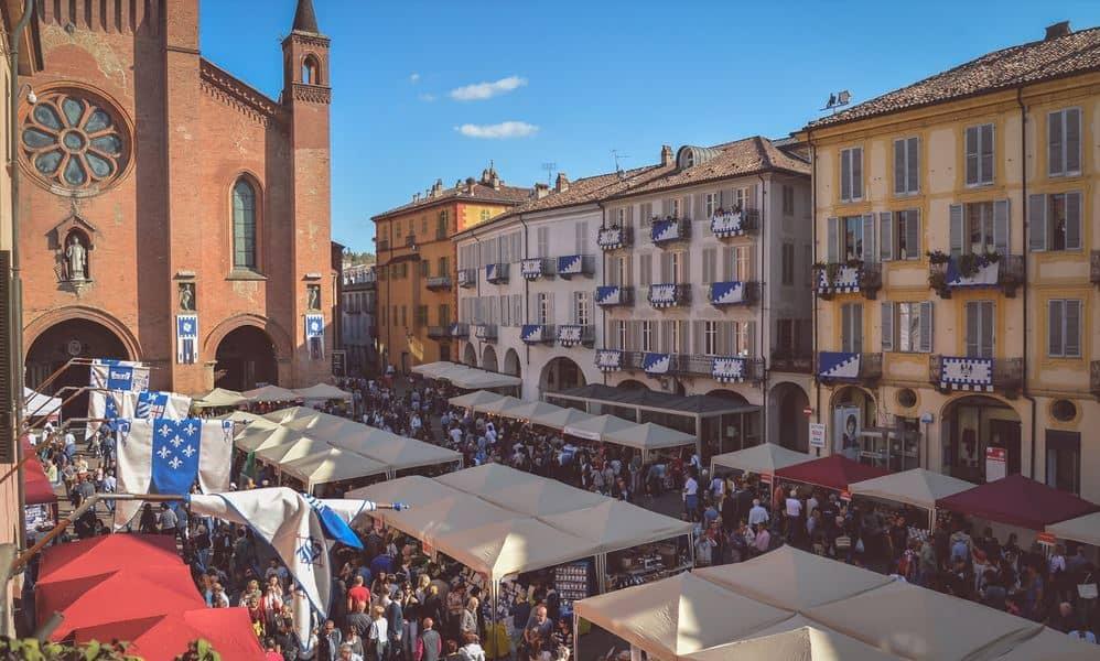 Fiera del Tartufo Bianco d'Alba - ottobre - novembre 2019 - città di Alba (Cuneo)