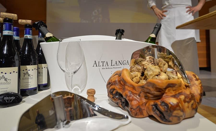 Fiera del Tartufo Bianco d'Alba - ottobre - novembre 2019 - vino e cucina