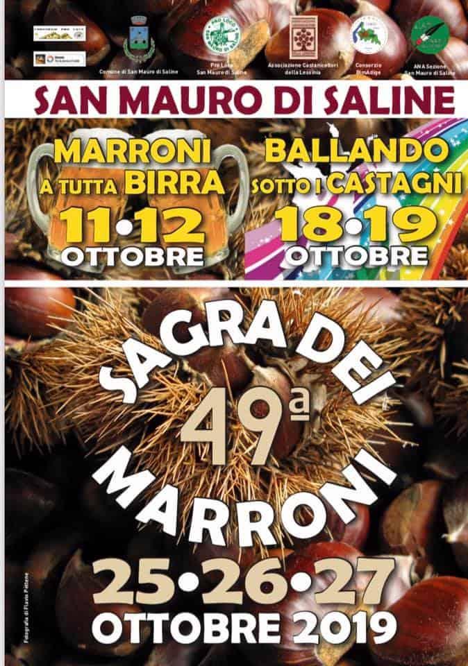 San Mauro di Saline - Sagra dei Marroni - 25-26-27 ottobre 2019 - Verona Wine Love