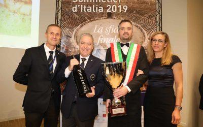 Concorso Miglior Sommelier d'Italia Premio Trentodoc: il primo è Valentino Tesi della delegazione AIS di Pistoia