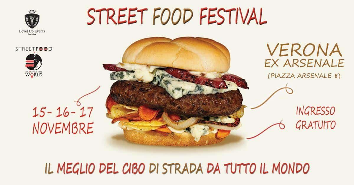 Street Food Festival - Verona - 15-16-17 novembre 2019 - Cibo di Strada da tutto il Mondo