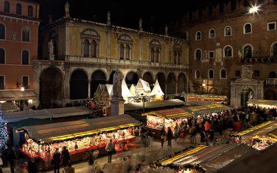 Mercatini di Natale nel centro storico di Verona dal 15 novembre al 26 dicembre 2019. L'atmosfera natalizia fra le vie del cuore scaligero