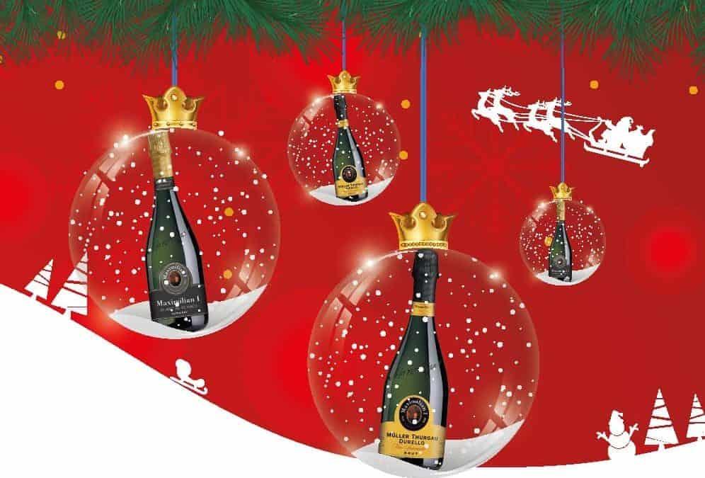 """Cantina di Soave: la pubblicità natalizia dello spumante """"Maximilian I"""" corre sul bus"""